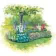База отдыха Радуга - иконка «сад» в Золотаревке